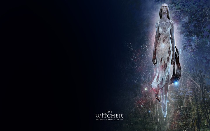 The Witcher Girl Zombi Trees