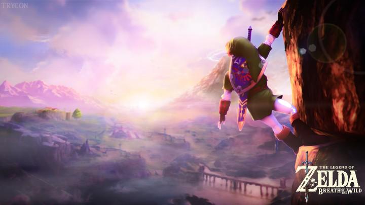 The Legend Of Zelda Breath Of The Wild Wallpaper By Depzai