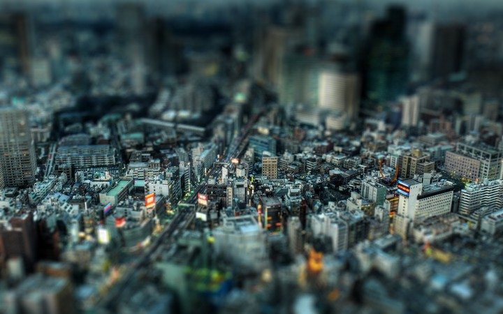 Tokyo Buildings Cities Cityscapes Depth Of Field