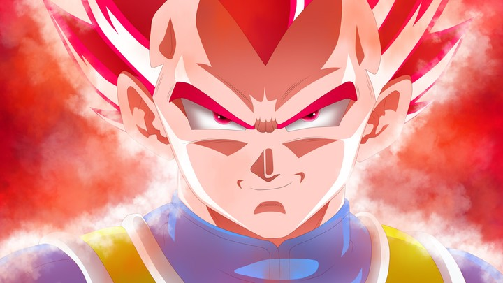 Vegeta Dragon Ball Super 5k